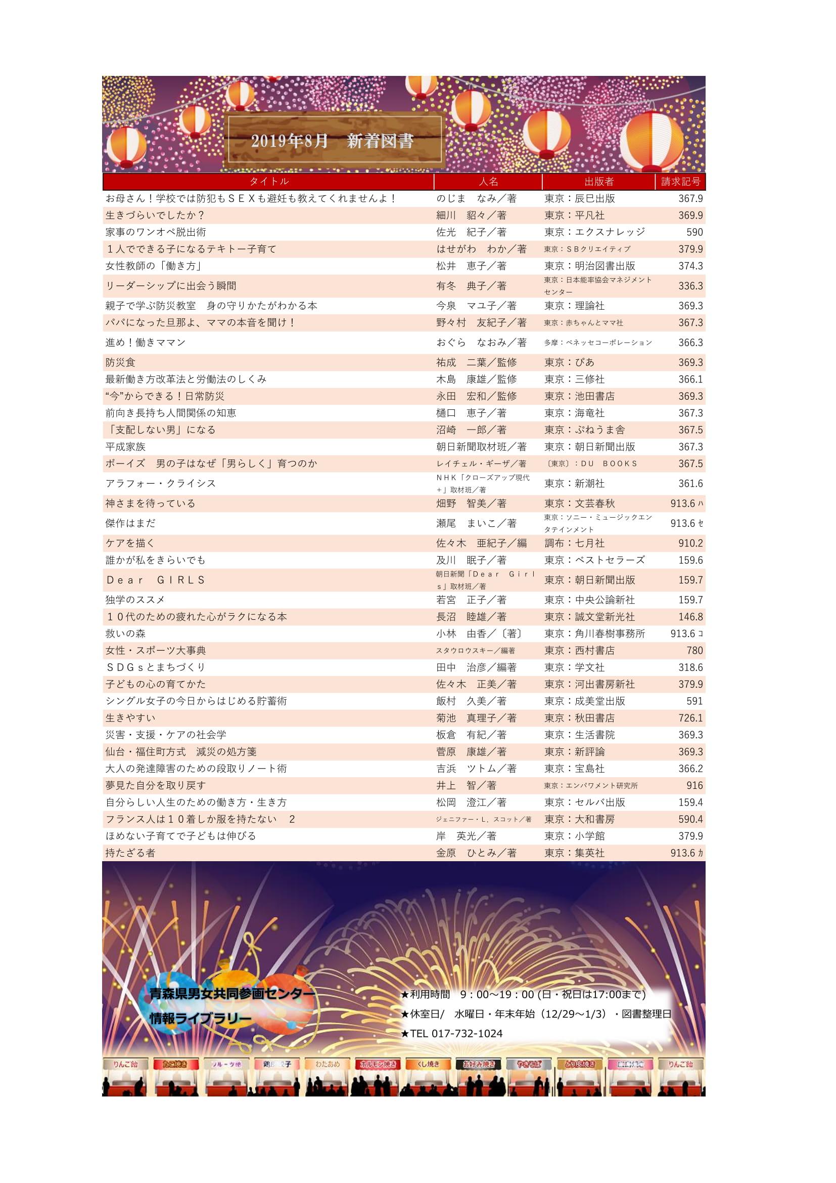 R1新着図書リスト8月